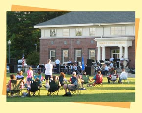 Summer Concert on the Municipal Green